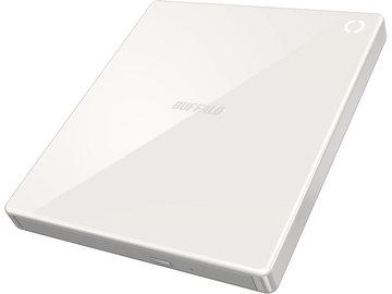 BUFFALO スマホ用CDレコーダー ラクレコ Wi-Fi RR-W1-WH/D