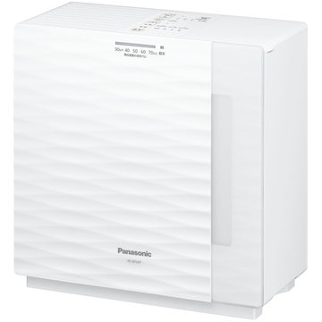 Panasonic ヒーターレス気化式加湿機 19畳 (ミルキーホワイト) FE-KFU07-W