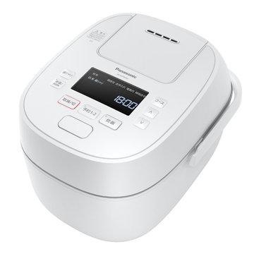 Panasonic 可変圧力IHジャー炊飯器 1.0L (ホワイト) SR-MPW101-W