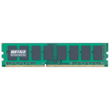 BUFFALO PC3-12800対応 240Pin DDR3 DIMM 4GB D3U1600-4G