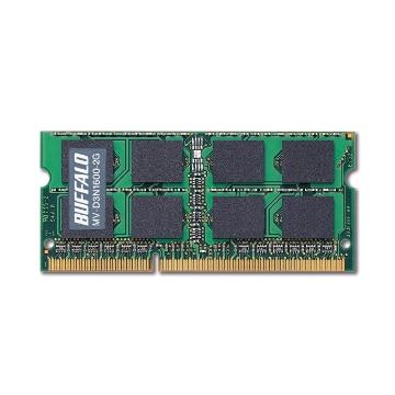 BUFFALO D3N1600相当 法人向白箱6年保証 SODIMM 2GB MV-D3N1600-2G