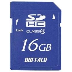 バッファロー Class4 SDHCカード 16GB RSDC-S16GC4B