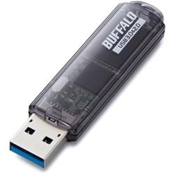 BUFFALO USB3.0対応 USBメモリー スタンダード 16GB ブラック RUF3-C16GA-BK