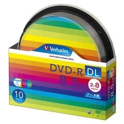 三菱電機 DVD-R DL 8.5GB 8倍速対応 10枚 白 DHR85HP10SV1