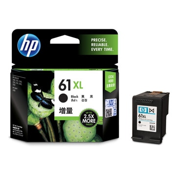 HP HP 61XL インクカートリッジ 黒(増量) CH563WA