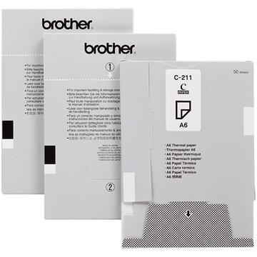 ブラザー MPrint用ペーパーカセット感熱紙 C-211