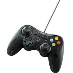 ELECOM 12ボタンUSBゲームパッド/Xinput対応/ブラック JC-U3613MBK