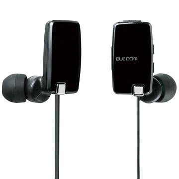 エレコム Bluetoothステレオイヤホン/スマホ・携帯用/NFC/ブラック LBT-HP05NMPBK