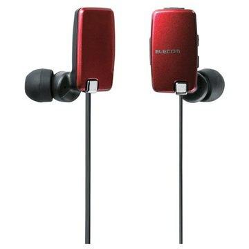 エレコム Bluetoothステレオイヤホン/スマホ・携帯用/NFC/レッド LBT-HP05NMPRD