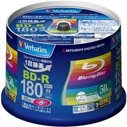 三菱電機 BD-R 録画用 130分 1-6倍速 スピンドル50枚P VBR130RP50V4