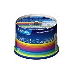 三菱電機 DVD-R(Data) 4.7GB 16X スピンドル50Pホワイト DHR47JP50V3