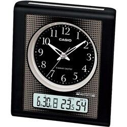 カシオ CASIO 電波置き時計 電子アラーム・温湿度計・常時点灯 TQT-351NJ-1JF