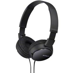SONY ステレオヘッドホン ブラック MDR-ZX110/B