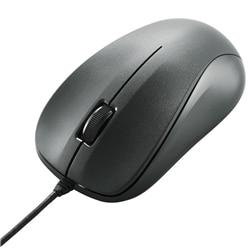 ELECOM USBレーザーマウス/スタンダード/簡易パッケージ/ブラック M-S2ULBK/RS