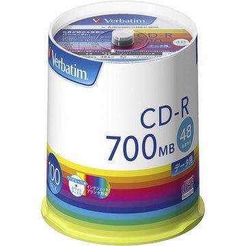 三菱電機 CD-R(Data) 700MB 48x 100SP SR80FP100V1E