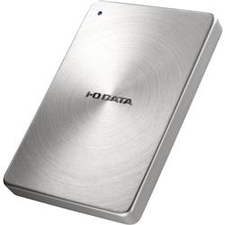 I-ODATA USB3.0 ポータブルHDD 「カクうす」 2TB シルバー HDPX-UTA2.0S