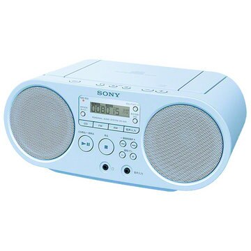 SONY CDラジオ ブルー ZS-S40/L