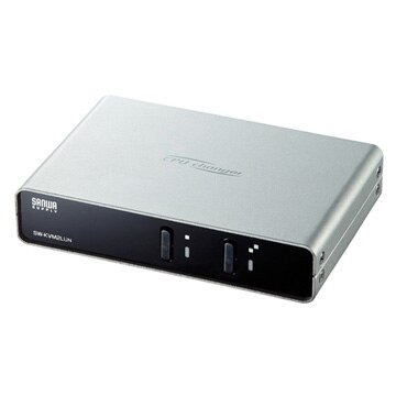 SANWASUPPLY パソコン自動切替器(2:1) SW-KVM2LUN