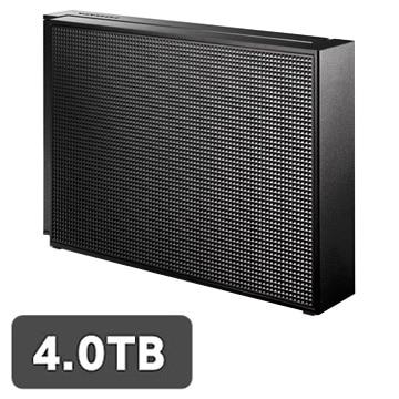 I-ODATA USB3.0/2.0対応 外付HDD 4TB EX-HD4CZ
