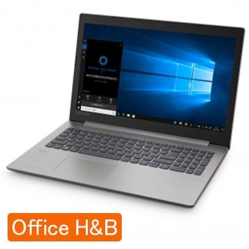 Lenovo ideapad 330(15.6/3867U/4GB/128GB/Win10Home/プラチナグレー) 81DE02WUJP