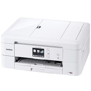 ブラザー A4 インクジェットプリンター複合機 プリビオ ホワイト DCP-J972N