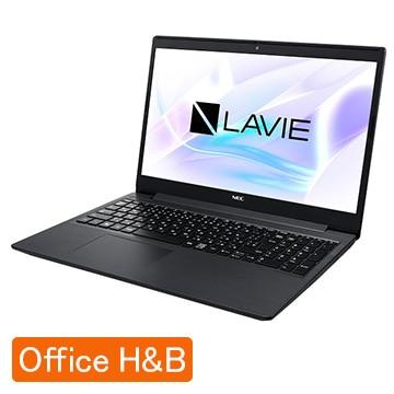NEC (オフィス付)LAVIE Smart NS Corei3 8GB SSD256GB カームブラック PC-SN212LFDF-D