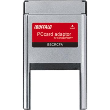 BUFFALO CFカード専用 PCカードアダプター BSCRCFA