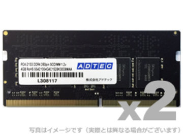 DDR4-2133 260pin SO-DIMM 4GB×2