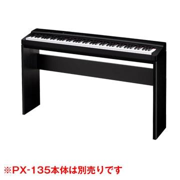 <ひかりTV>【送料無料】デジタルピアノ プリヴィアPX-130BK/330BK用スタンド CS-67PBK画像