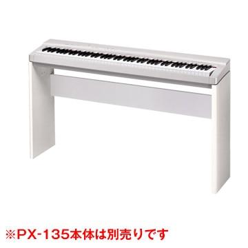 <ひかりTV>【送料無料】デジタルピアノ プリヴィアPX-130WE/330WE用スタンド CS-67PWE画像