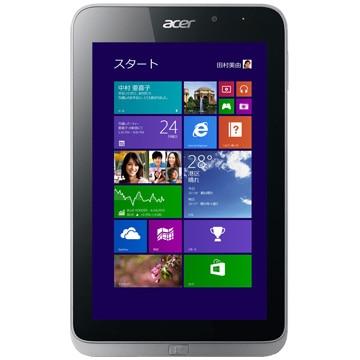 【送料無料】8型Windowsタブレット Iconia W4-820 (Atom Z3740/2G/64G eMMC/8.0/Win8.1(32)/OFL2013/ガンメタル) W4-820/FP
