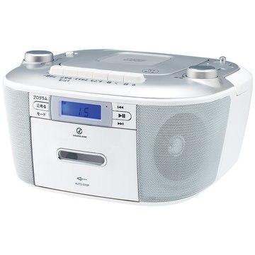 コイズミ CDステレオラジカセ シルバー SAD-4935/S