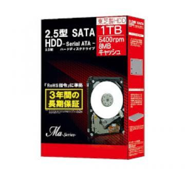<ひかりTV>【送料無料】SATA HDD Ma Series 2.5インチ 1TB MQ01ABD100BOX画像