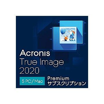 【送料無料】Acronis Acronis True Image Premium Subscription 5 Computer(DL版) THRASLLOS
